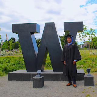 Rukmal Weerawarana at the University of Washington Foster School of Business graduation